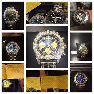 Watches in stock.