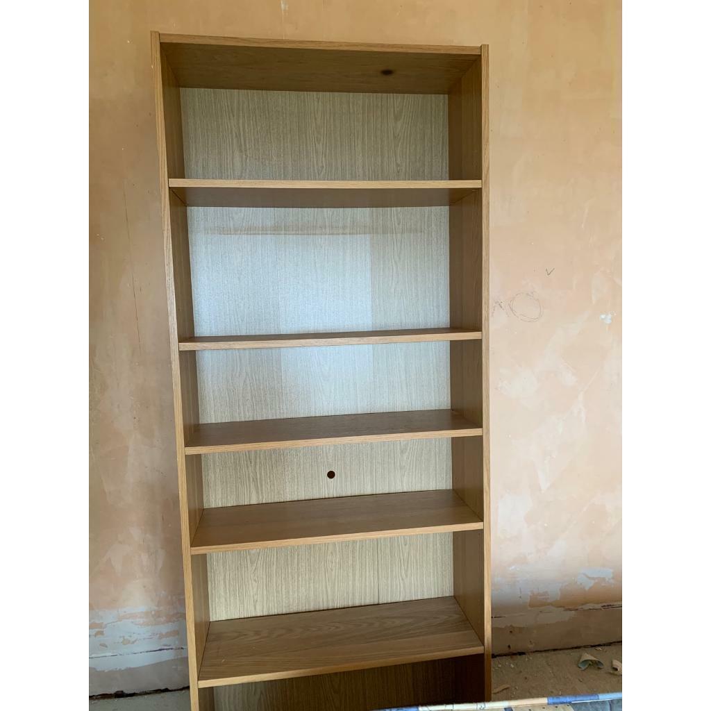 Ikea Billy Bookcase Oak Veneer In Sheffield South Yorkshire Gumtree