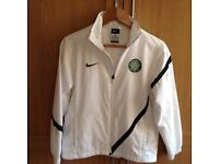 Nike Boys Celtic football zipper age 10-12