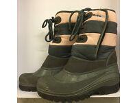 Alpine Snow Boots UK SIZE 2 EUR 35