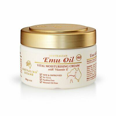 Emu Oil Vital Moisturizing Cream_Australian Creams MKII (250g/8.8oz)