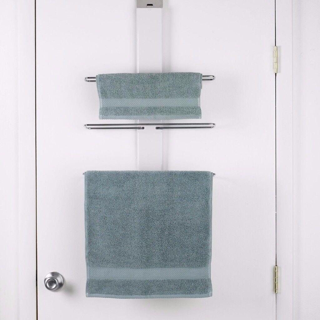 New OXO Good Grips Over the Door Towel Rail