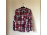 Red Primark Flannel Size 16