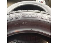 Two 185/55 R14 80H Tyres