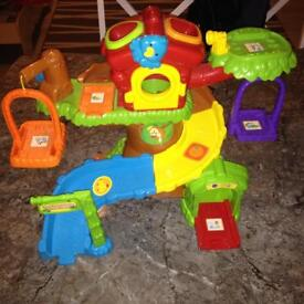 VTech Toot Toot Animals Safari, Tree House, Zoo Ticket Booth