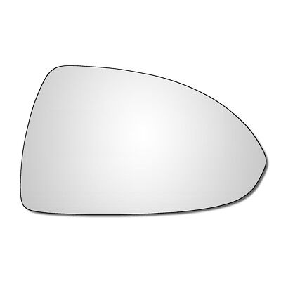 Right Hand Drivers Side Vauxhall Corsa D  E 2006 2017 Convex Wing Mirror Glass