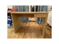 Wooden Desk with a drawer
