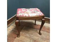 VINTAGE STOOL - SMALL UPHOLSTERY PROJECT