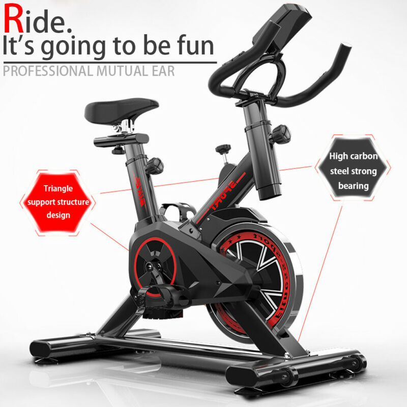 exercise spin bike home gym bicycle cycling