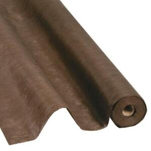(DI19)  Chocolate Brown Gossamer Draping Fabric Roll - 100 Feet by 3 Feet Wide Wedding Aisle Runner / Table Cover / Back