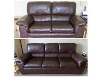 3 seater and 2 seater sofas for sale - Including 'free delivery'