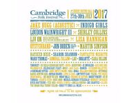 [Sold]Cambridge folk festival - 1x Tickets + camping