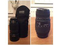 2 PENTAX lenses