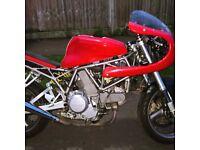 Ducati 750Sie Cafe racer.