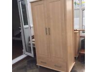 Very nice premium beech cupboard and wardrobe