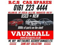 VAUXHALL ASTRA CORSA INSIGNIA VECTRA ADAM ZAFIRA PARTS BREAKING SPARES PARTS