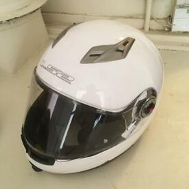 A Viper LS2 full face motorbike helmet as new.