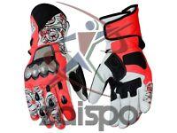Nicky Hayden Motorbike Racing Leather Gloves