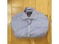 Satorial - adult male striped shirt