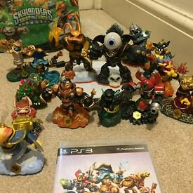 PS3 games and figures