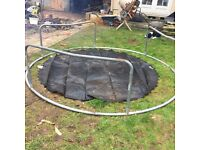 10ft Trampoline with net bars