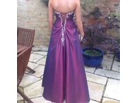 Prom Dress, perfect condition worn once size 8