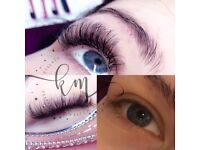 Professional semi permanent eyelash extensions in home based lash studio in Luton, Stopsley