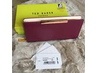 *NEW* TED BAKER Zip Around Leather Matinee Purse RRP £79!