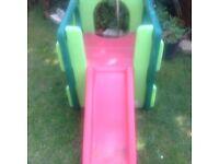 Little Tikes garden slide.