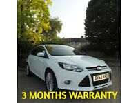 FORD FOCUS 2012 + 1.0 EcoBoost + 50K Miles+ HPI CLEAR+ FSH+ Vauxhall vw