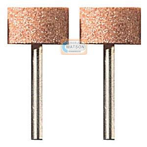 DREMEL-Multi-Tool-Accessories-8193-2-x-15-9mm-Aluminium-Oxide-Grinding-Stone-x2