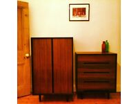PRICE DROP Original John and Sylvia Reed STAG C RANGE , Chest of drawers and Tallboy PRICEDROP