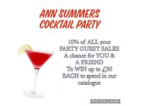 Ann Summers Cocktail Party