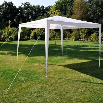 Swift Shelter 3m x 3m Pop Up Quick Erect Gazebo with White Canopy