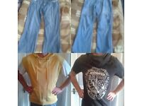LADIES/MENS CLOTHES & BITS AND BOBS IDEAL FOR CARBOOT