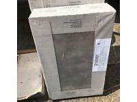 2x boxes atlas grey ceramic tiles 25 x 30 cm