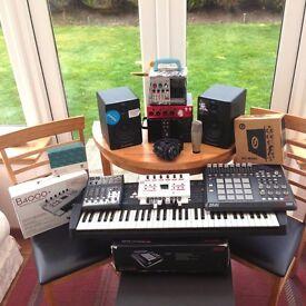 STUDIO CLEAROUT SALE, Akai, Moog, Roland, M-Audio, Mutable Instruments.