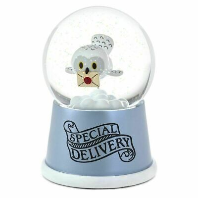 Hallmark Harry Potter Hedwig Special Delivery Musical Water Snow Globe NEW!