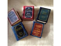 Miniature Classic library books