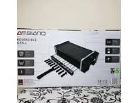 Ambiano Reversible Grill with rotating skewers