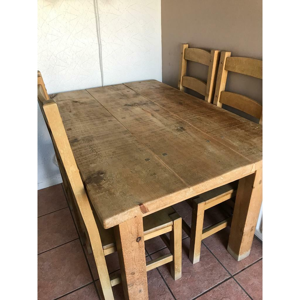 Dining Table & 9 Chairs   in Cambuslang, Glasgow   Gumtree
