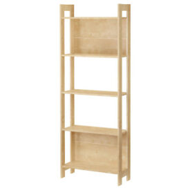 Ikea Bookcase Bookshelf Shelving Unit Storage For Student Kitchen Shelves Minimalist Laiva Shelf NEW