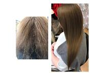 glasgow Yuko, rebonding, Permanent Hair straightening, better than Brazilian blow dry ,格拉斯哥华人理发店