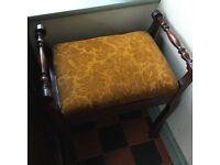 Mahogany Piano Stool £50 ono