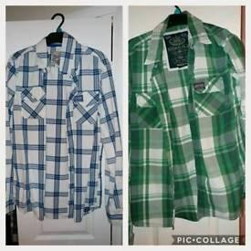 2 genuine Superdry shirts