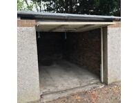 Fantastic central morningside garage with new roof.