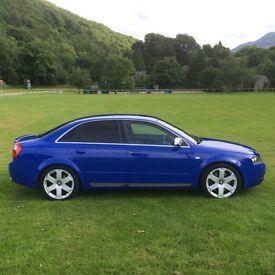 2003 AUDI S4 4.2 V8 QUATTRO NEGARO BLUE 61K