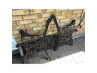 Bench seat irons
