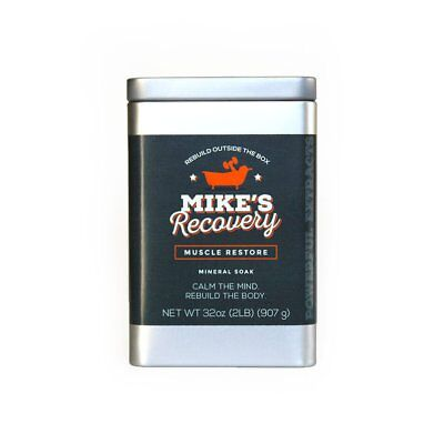 Mineral Soak (Mike's Recovery RESTORE Mineral Soak 2lb Classic Tin - Mikes )