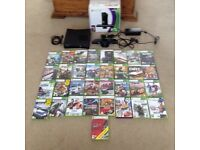 Xbox 360 with Kinect, 2 Controllers and 33 games